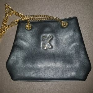 Exquisite Paloma Picasso leather shouder bag